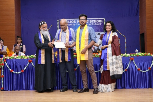 Std. XII Graduation Ceremony 18-19